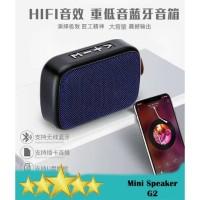 CHARGE G2 Speaker Mini Portable Wireless - Lapis Bahan Kain