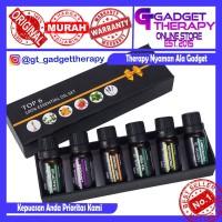 Paket Premium Minyak Aromaterapi Essential Oil Difuser 10ML 6 Botol