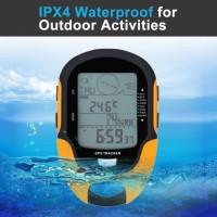 GPS NAVIGASI HANDHELD Waterproof Digital Altimeter Barometer USB port