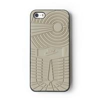 Case iPhone 5 Sneakers Nike Jordan Case (Hard | Casing | 5s) - Abu-abu