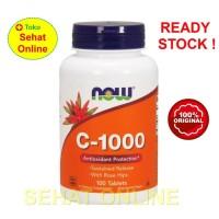 Now Foods C-1000 100 Tablets Vitamin C 1000 mg + Rose Hip