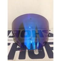 Visor KYT Venom Open DJ Maru Galaxy Iridium Blue Original KYT