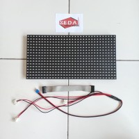 Panel Module Modul LED P10 Running Text SMD Hijau Green Outdoor
