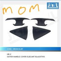 JSL Outer Handle Cover / Mangkok Handle Pintu Blacktivo Hitam HRV