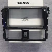 Frame OEM-Fit Head Unit Double Din Audio TOYOTA VIOS 2013 / YARIS