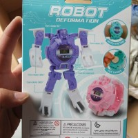 Jam tangan robot - Robot watch deformation 628