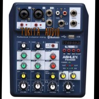 MIXER AUDIO ASHLEY FX402i FX 402i 4 CHANNEL USB BLUETOOTH ORIGINAL