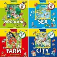 Tony Wolf Series : The Farm / The City / The Sea / The Woodland