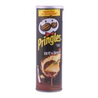Pringles Keripik kentang rasa Pedas 110gr