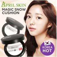 [ ORIGINAL] Bedak April Skin / April Skin Black Magic Snow Cushion