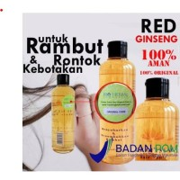 ORIGINAL Shampo RED GINSENG + Hairtonic Paket