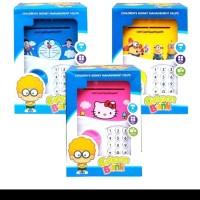 mainan ATM celengan cartoon bank (8799BI.3)BB tabungan celengan ATM
