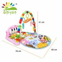 (SY-9616) Baby gym musical set musik bayi playmat matras mainan piano