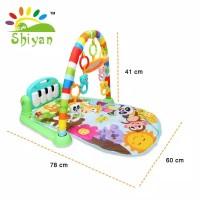 (SY-9615) Baby gym musical set musik bayi playmat matras mainan piano
