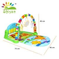(SY-9611) Baby gym musical set musik bayi playmat matras mainan piano