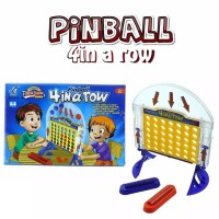 Mainan Anak Table Game Tembak Pinball 4 In A Row 1wrn Family Game