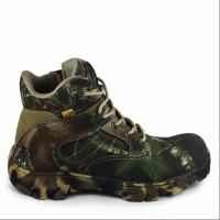 sepatu pria walkers camo pendek 6inch safety boots ujung besi tracking