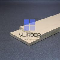 Plat Aluminium Strip 50 mm x t. 5.0 mm