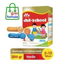 Chilschool chil school Gold 4 Vanila 800g Morinaga susu formula