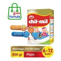 Chilmil chil mil gold 2 800gr Morinaga susu formula