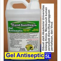 Teknik Kimia Hand Sanitizer Gel 5L Ethanol 70% standart WHO BPOM