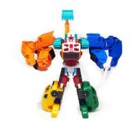 Mainan Anak Robot TOBOT MAGMA MEDI 6 Robot Transformasi