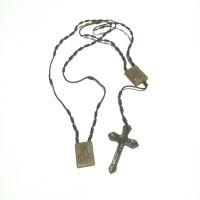 rosario benang skapulir coklat