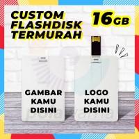Flashdisk Kartu Custom Print 16GB - Flashdisk Custom Termurah 16GB
