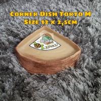 Water Dish Corner Tempat Minum Torto / Kura Kura size M