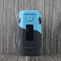 Silikon kasus untuk Wismec RX300 tekstur kulit lengan karet penutup