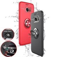 Casing Case dengan Ring Holder Magnetik untuk Samsung Galaxy S7 Edge