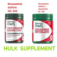 Baru!! Nature's nature natures own glucosamine sulfate chondoritin 1