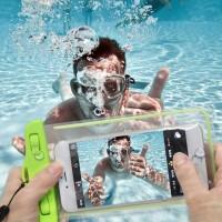 Outdoor Tas Handphone Waterproof: Untuk Berenang &