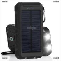 Tanpa Baterai Miqin Power Bank Solar Panel Tenaga Surya 50000mah