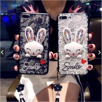 Rabbit Soft Case XML| Casing Samsung Galaxy S4 S5 S6 S7 Edge S8 S9