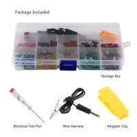 Truck SUV 100Pcs 3A-35A Assortment Micro Mini Blade Fuse Set Kit For
