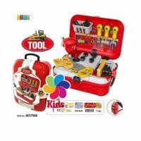 Mainan anak tool back pack playset - mainan edukasi alat tukang Diskon