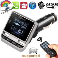 Car Bluetooth FM Transmitter LCD Displayer Wireless Car MP3 Player