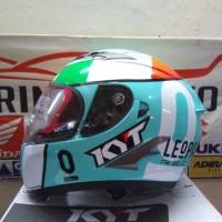 Dijual Helm KYT VENDETTA II LEOPARD LOCATELLI SE Limited