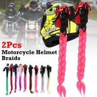 Pilihan Warna Rambut Kepang Panjang 24 untuk Aksesoris Helm Sepeda