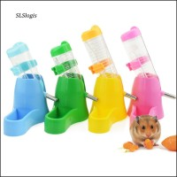 Wac_80/125Ml 3 In 1 Pet Hamster Squirrel Water Bottle Bowl Base H
