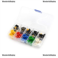 WBID belle 25Sets Momentary Tactile Push Button Touch Micro Switch
