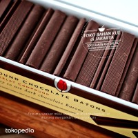 Tulip Dark Chocolate COMPOUND Batons 1kg Coklat Batons Sticks Cokelat