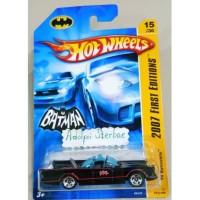 Hotwheels tv batmobile batman 2007 first editions