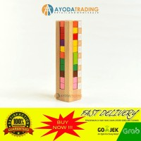 Ikuno Tower Katamino Tetris 3D Family Game IQ Anak Jenius