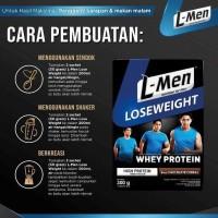 Lmen Lose Weight Sereal Susu Diet L-Men Rendah Lemak Low Fat .