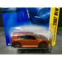 Hot Wheels Volkswagen Golf GTi 2007 New Models Exclusive Color Orange