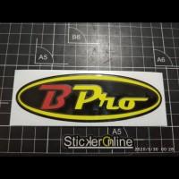 cutting sticker motor logo Bpro