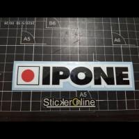 cutting sticker motor ipone ukuran3x13cm
