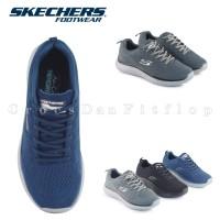 SKECHERS MENS Quantum Rood Original Sepatu Pria Sneakers - Free Dus